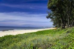 在Muine附近的沿海风景。 免版税库存照片