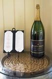 在Mumm纳帕酿酒厂里面在纳帕谷 免版税库存照片