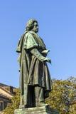 在Munsterplatz的贝多芬纪念碑在波恩 库存图片