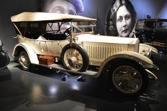 1920年在Museo dell'Automobile的Nazionale的Isotta Fraschini类型B 库存照片