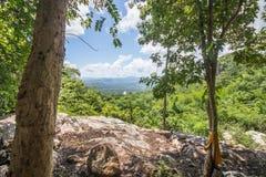 在n泰国的山脉 免版税库存照片