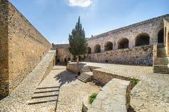 在Nafplio的Palamidi城堡,希腊 库存照片