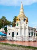 在Nai哈恩,普吉岛的Buddist寺庙 免版税图库摄影