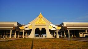 在Nakhon Phanom的关系桥梁 免版税库存图片