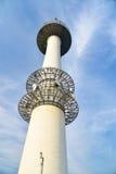 在Namsan山的Namsan塔在汉城,韩国 库存图片