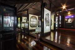 在Nang亚伊Wat Khanon遮蔽木偶博物馆 库存照片