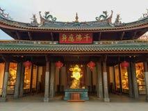 在Nanputuo寺庙的菩萨雕象在厦门市,中国 图库摄影