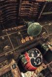 在Naritasan Shinshoji寺庙的灯笼在成田,日本 库存图片