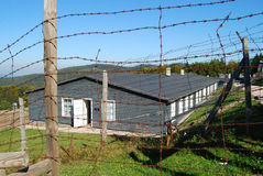 在Natzwiller-Struthof集中营,法国的住宅 免版税库存图片
