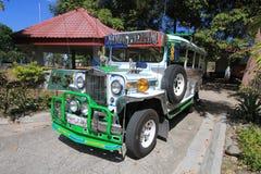 在nayong pilipino克拉克的Jeepney 免版税库存图片