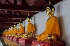 在nokorn sri thammarath的菩萨雕象 库存图片