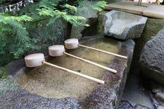 在Nonomiya-jinja的Chozusha在京都 库存照片