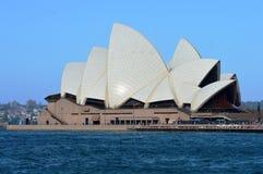 在NSW,澳大利亚的悉尼歌剧院 免版税库存照片