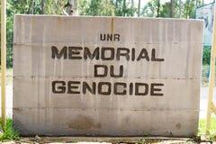 在NUR的纪念种族灭绝 免版税库存照片