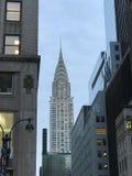在NYC的克莱斯勒大厦 免版税库存照片