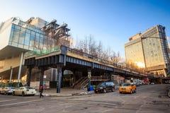 在NYC的生产线上限公园 免版税库存图片