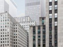 在NYC的洛克菲勒中心 免版税库存照片