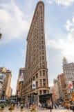 在NYC的Flatiron大厦 免版税图库摄影