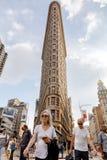 在NYC的Flatiron大厦 免版税库存图片