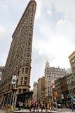 在NYC的Flatiron大厦 免版税库存照片