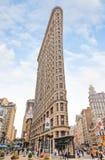 在NYC的Flatiron大厦 图库摄影