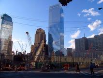 在NYC,美国的世界贸易中心 免版税库存照片