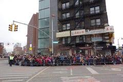 在NYC 33的2014年农历新年庆祝 库存照片