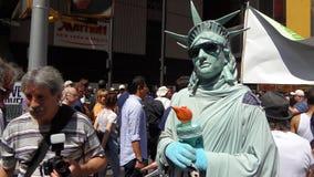 在NYC 103的2013年GoTopless天 免版税库存照片
