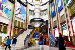 在O2的戏院霍尔在伦敦 免版税库存照片