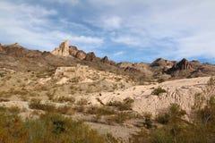 在Oatman附近的矿跟踪 免版税库存图片