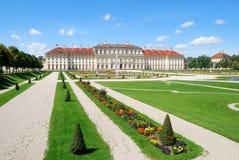 在oberschleissheim宫殿附近的慕尼黑 免版税库存图片