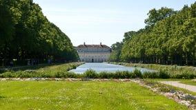 在oberschleissheim宫殿附近的慕尼黑 免版税库存照片