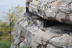 在Odderøya的堡垒 免版税图库摄影