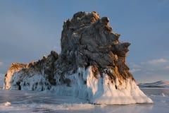 在Ogoy海岛上的海角龙 图库摄影
