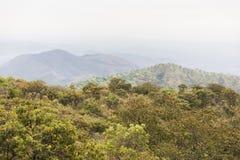 在Omo谷的风景 埃塞俄比亚 闹事 免版税库存图片