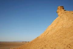 在Ong Jemel的骆驼顶头岩石 库存图片