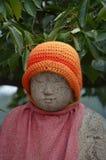 在Onomichi的菩萨雕象 免版税库存照片