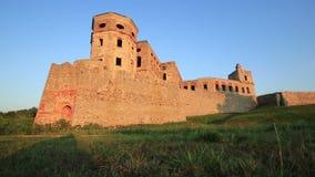 在Opatow,波兰,欧洲附近的Krzyztopor城堡 影视素材