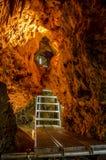 在Oreshets和贝洛格拉奇克,保加利亚附近的Venets洞 免版税图库摄影