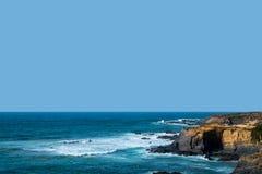 在ortugal的海岸 图库摄影
