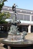 在Osnabrà ¼ ck的一个喷泉 免版税库存照片