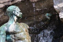 在Osnabrà ¼ ck的一个喷泉 免版税库存图片