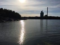 在ostergotland的Marviken 免版税库存图片