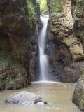 在Pai的Pam Bok瀑布在泰国 免版税库存照片