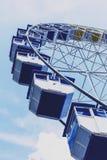 在Pantiero港口区域安装的弗累斯大转轮在戛纳f 免版税库存图片