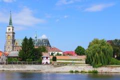 在Pardubice旁边 免版税库存图片