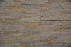 在pastell口气的现代砖样式墙壁 免版税库存图片
