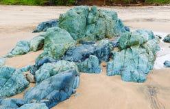 在Pedasi附近的海滩在巴拿马 图库摄影