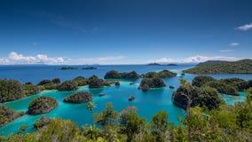 在Penemu海岛03的新的观点 免版税库存图片