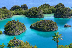 在Penemu海岛02的新的观点 免版税库存照片